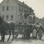Aufnahme in der Zeit um 1940 in der Tütschengereuther Hauptstraße.