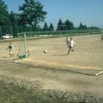 1977 wurde ein Allwetterplatz an Stelle des alten Sportplatze errichtet, heutiges Hauptspielfeld
