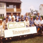 FFW Helfer bei Zeltabbau 1976