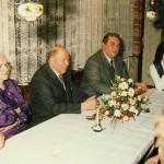Ehrenbürger und Altbürgermeister Andreas Neubert und Bürgermeister Alfred Wachter