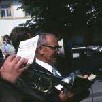 """Kirchenpfleger, Messner und Vorbeter Johann Neibauer """"Der Eisenbahner"""" in den 70ziger Jahren"""
