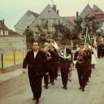Umzug  beim 40 jährigen Vereinsjubiläum SVT 1968