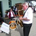 Dorfmusik 2010 Tag der offenen Tür Firma Schütz