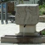 Ortsbrunnen Vorderseite