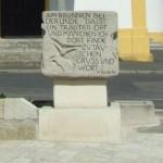 Ortsbrunnen Rückseite