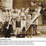 Schulanfänger 1954