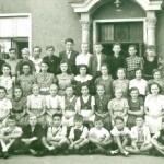 Tütschengereuther Jugend im Josefsheim in Bamberg 1960