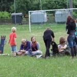 Pfarrfest im Schulhof 2011